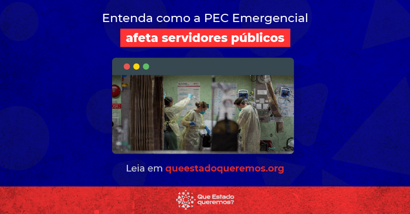PEC Emergencial prejudica serviços públicos