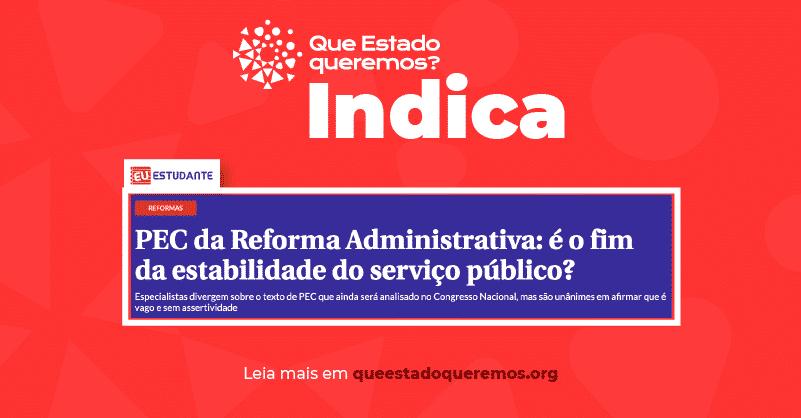 Reforma Administrativa: é o fim da estabilidade do serviço público?