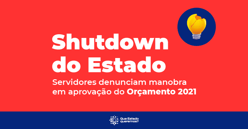 Shutdown do Estado