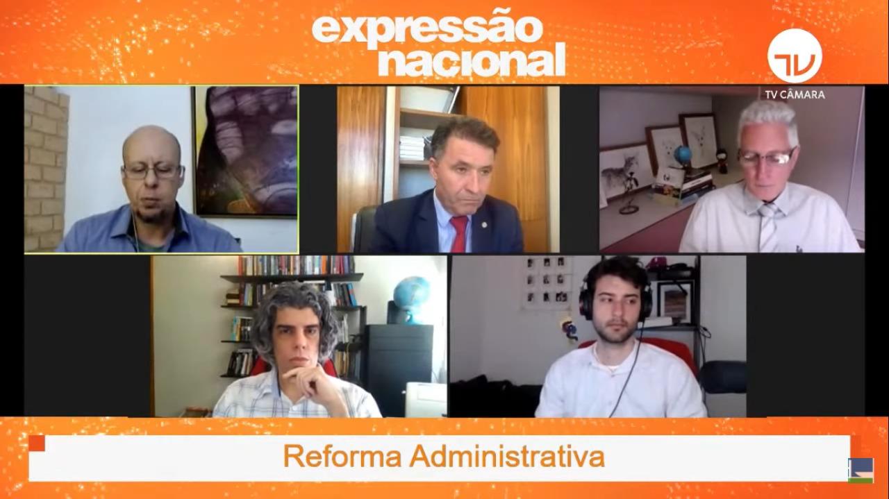 Expressão Nacional da TV Câmara contou com ANESP, FGV e parlamentares nesta segunda