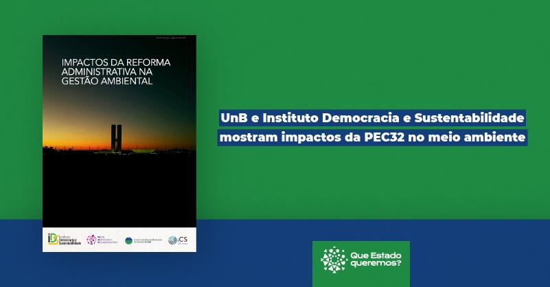 Impactos da reforma administrativa na gestão ambiental