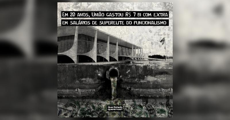 Dinheiro vazando do Palácio do Planalto